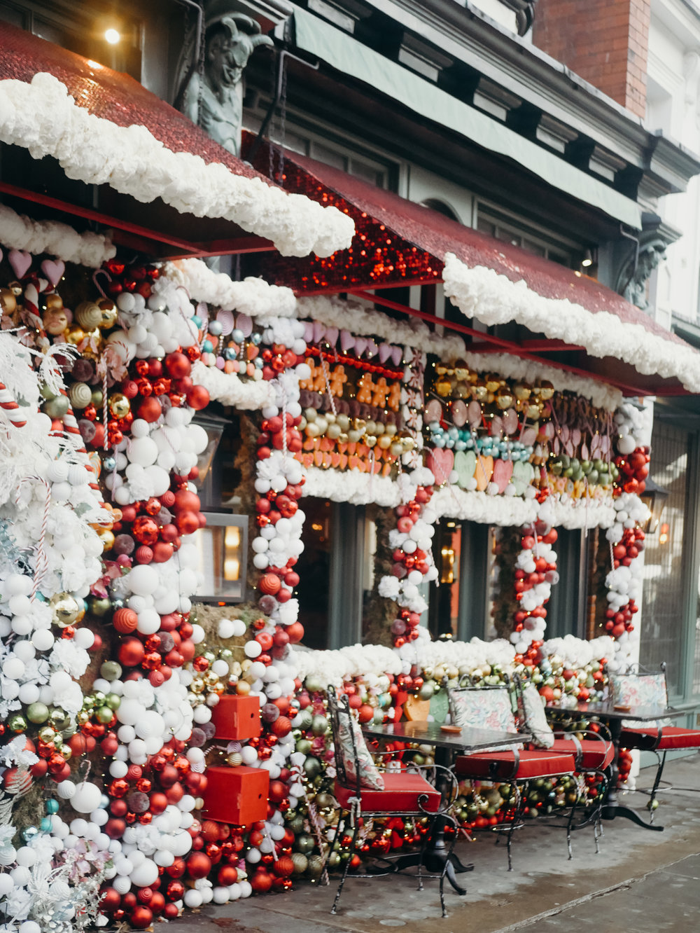 6 Things to Do in London at Christmastime - The Ivy Chelsea Gardens