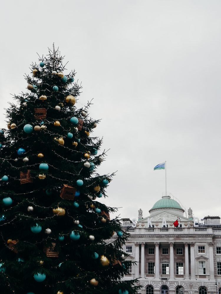 Christmas Bucket List - See the Decorations in London, Somerset House
