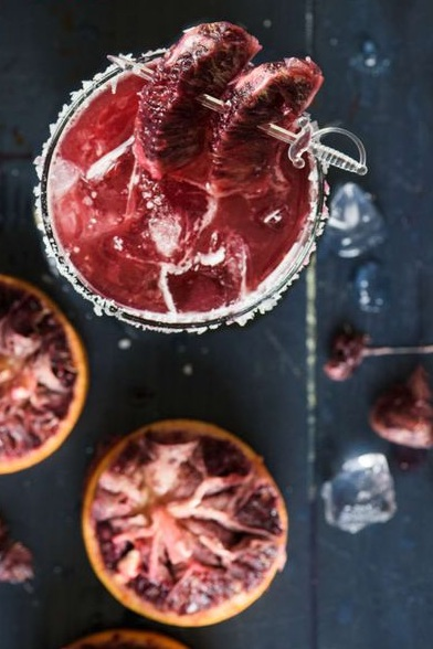 THE BLOODY BASTARD - A tequila-based cocktail with a garnish that will make your skin crawl. Ramsay may be the worst character to ever hit our screens, but this cocktail is definitely a crowd pleaser.