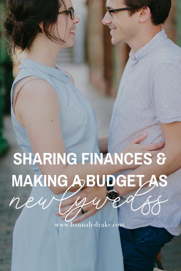 Sharing Finances & a Budget as Newlyweds