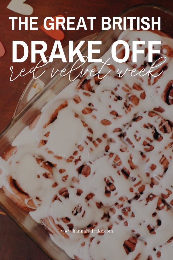 The Great British Drake Off: Red Velvet Week