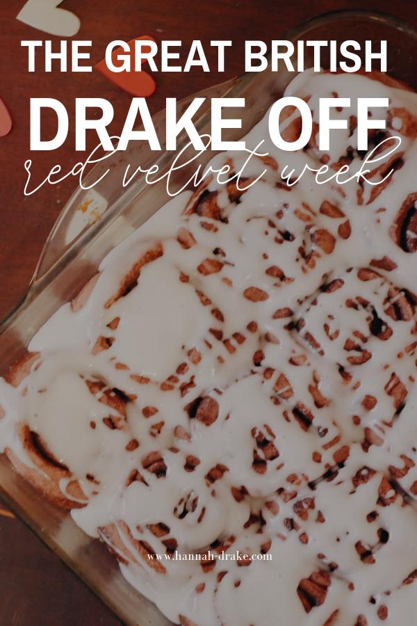 The Great British Drake Off: Red Velvet Week
