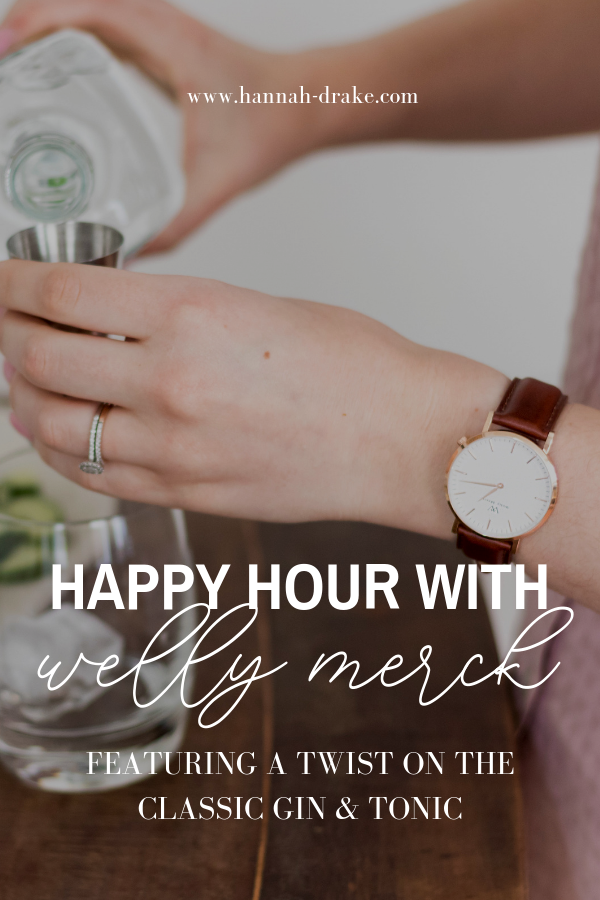 Happy Hour with Welly Merck