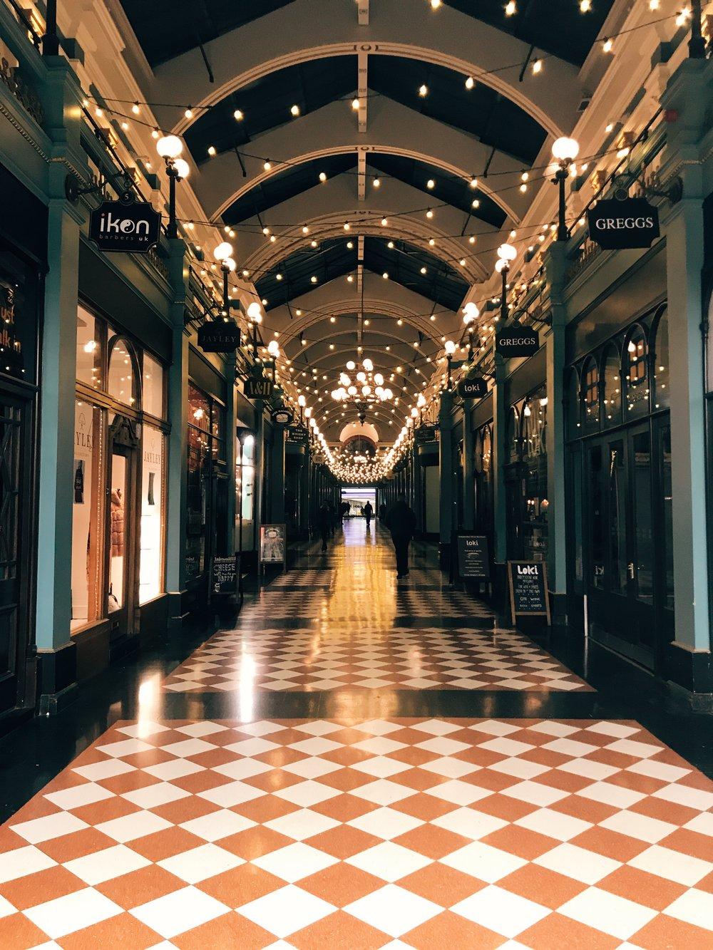 The Great Western Arcade Birmingham