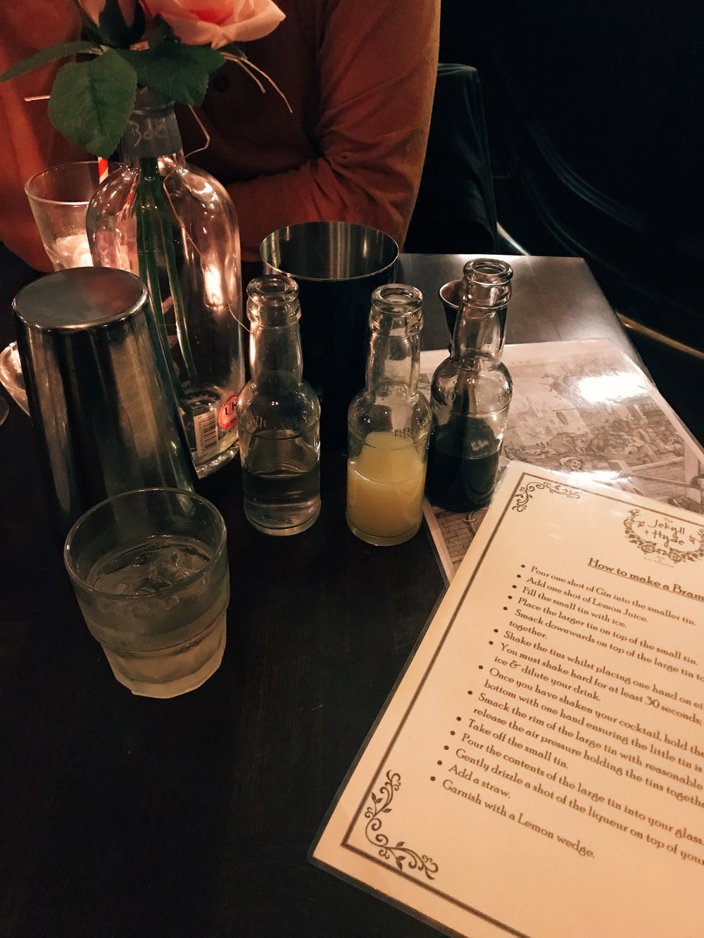 Gin Cocktail Masterclass - The Jekyll & Hyde Birmingham