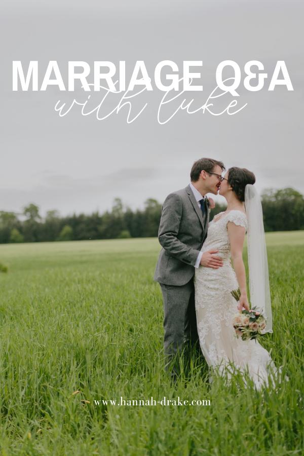 Marriage Q&A