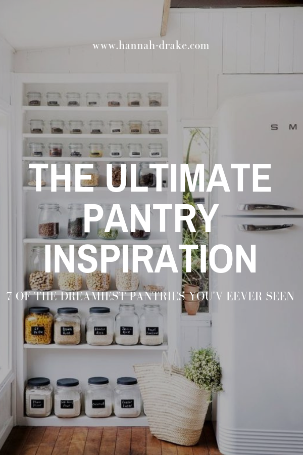 7 of the Dreamiest Pantries You've Ever Seen