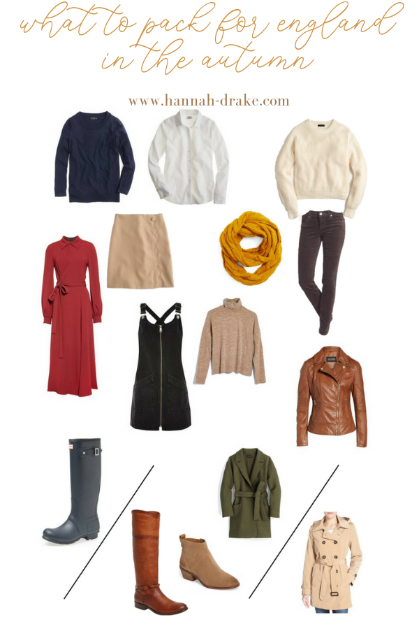 What to Pack for England in the Fall