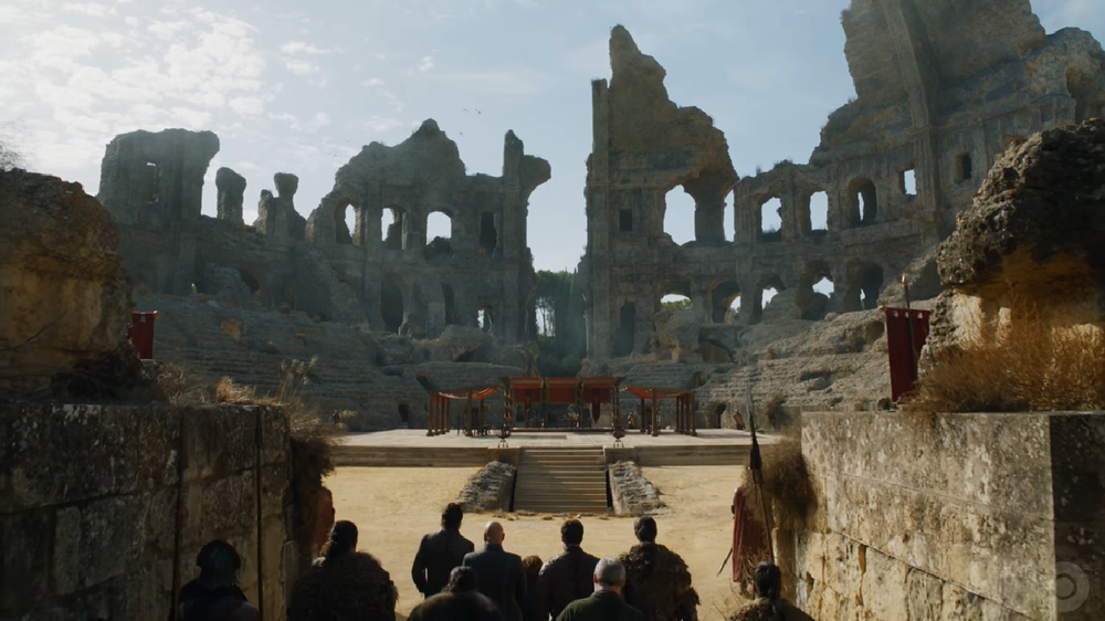 The Dragon Pit Game of Thrones Season Seven Episode Seven