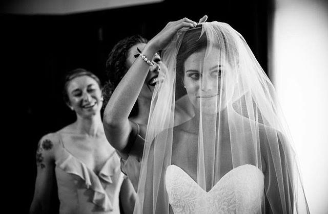 Love this shot from a recent #reallovebirdbride ❤️. . . . . Photo by @robertnormanphotography // bridal gown by @tiadorabridal // bridesmaids gowns by @hayleypaigeoccasions // veil by @andriabird // all via @lovebird_bridalshop . . . . . #ctbride #mysticbride #newportbride #ribride #bridalfitting #ido #sayyes #engaged #engagement #sayyestothedress #nebrideinsta #shoplocal #bridalaccessories #weddinggown #junebugweddings #photobugcommunity #heyheyhellomay #wedphotoinspiration #thatsdarling #theknot #radlovestories #huffpostweddings #loverly #indiebride #rusticweddings #reallovebirdbride