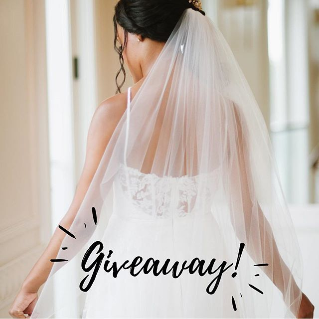 Happy Saturday, babes! We are hosting a giveaway over @mallovejewelers! Check out their post and be sure to enter! ✨. . . . . #weddinggiveaway #giveaway #ido #sayyes #bridalaccessories #weddingveil #tulle