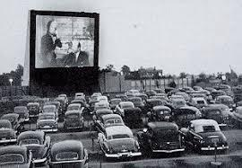 A drive-in the 1950