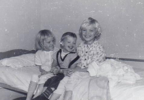 Time for bed - Debbi, Len and Janice