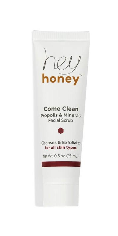 Hey Honey Come Clean: Propolis & Minerals Facial Scrub