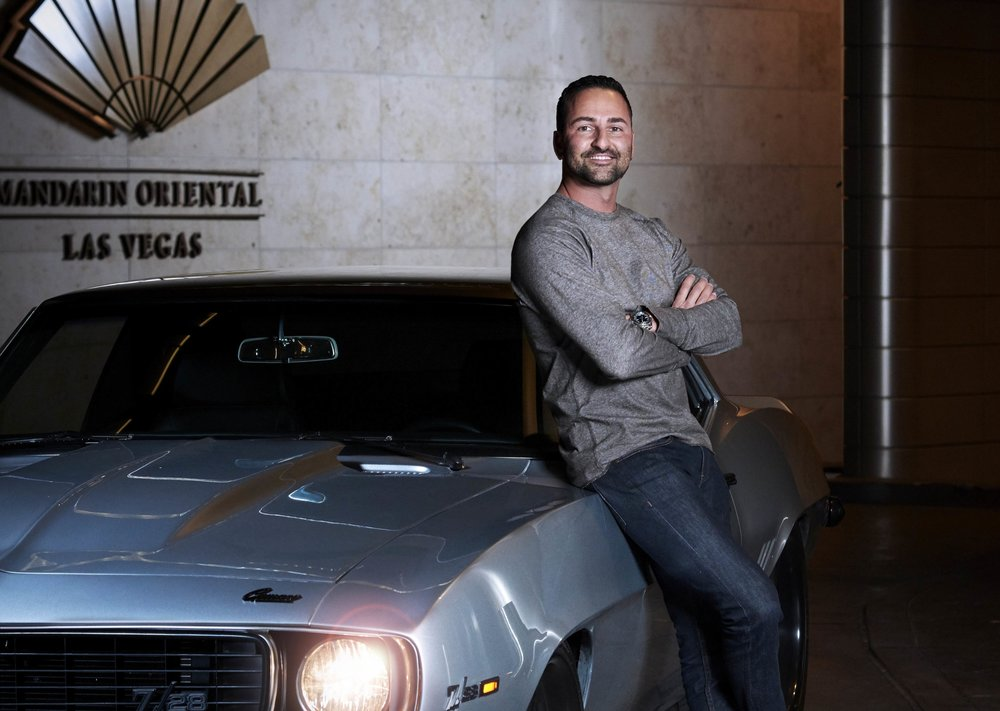 MANDARIN AUTO CLUB – Frank Napoli - High-rise life at the Mandarin is a luxury experience, it's an exhilarating adventure for me.""