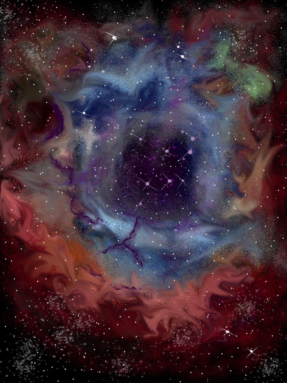 Nebula Painting