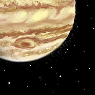 Painting of Jupiter