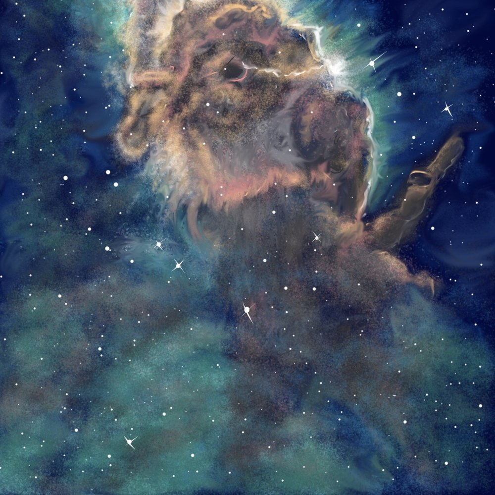 Space Cloud Painting