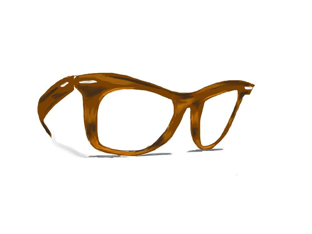 Vintage Ray Ban Wayfarer Glasses