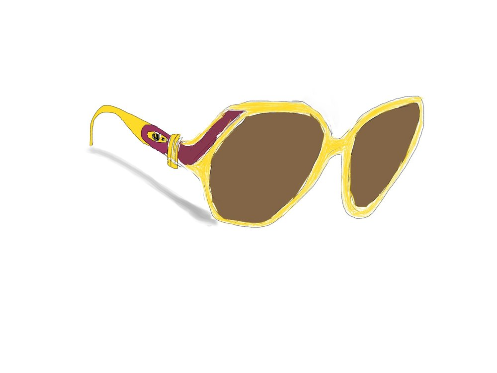1970's Vintage Christian Dior Sunglasses
