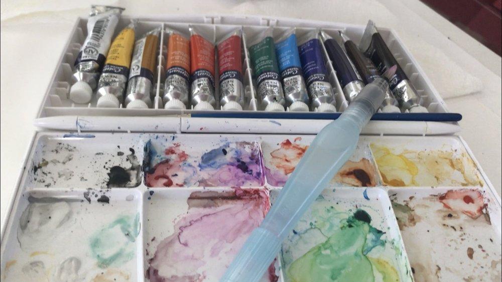 Winsor & Newton Watercolor set