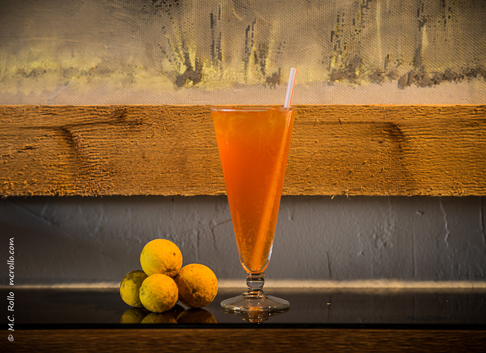 WILDER SODA  with Oryza vodka, Peychaud's Aperitivo, wild citrus and fizzy soda $9