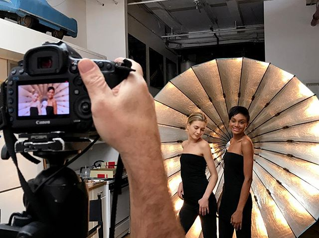 We love the glamorous Broncolor light in this behind-the-scenes shot for Kevyn Aucoin Beauty - our studio space is perfect for fashion shoots - tag your favorite fashion photographer below!  #BlueCarStudio #FashionPhotography #KevynAucoin #Modeling #ModelsOfInstagram #FashionPhotographer #CreativeProducer #RentalStudio #PhotoStudio #PhotographyStudio #Creatives #CreativeSpaces #ProductionParadise #MakeupArtists #Beauty #ProductShoot #ArtDirection #CreativeDirection #Producer #NYCStudio #ExecutiveProducer #SetLife #LocationScouting #FotoCare #Photography