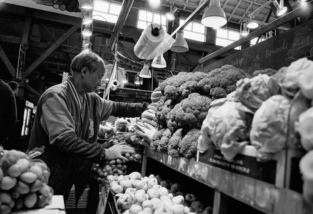 Prepping your five a day - 1/60 @ f8 TriX400