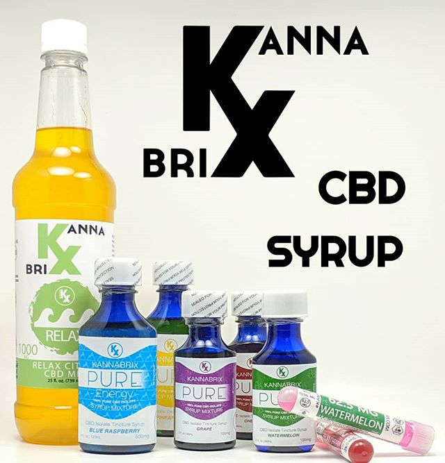 We offer a variety of sizes, flavors, and milligrams with our #kannabrix CBD syrup line. . . . . #cbdsyrup #cbdflavors #cbdcocktails #cbddrinks #mixers #hempcbd #cbd #oregonhemp #cbdisolate #zerothc #agave #agavenectar #madeinamerica #bartender #cocktail #drinkmixers