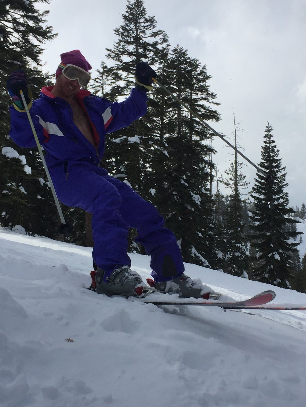 Brother-in-Law David, while also not a runner, did win 17 gold medals for the 1984 US Olympic alpine ski team