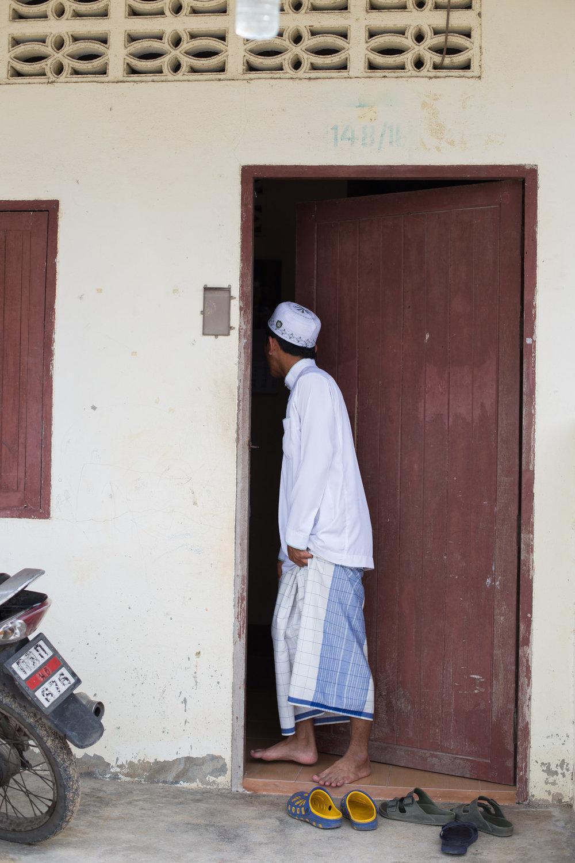 Muslim Man in Full Dress