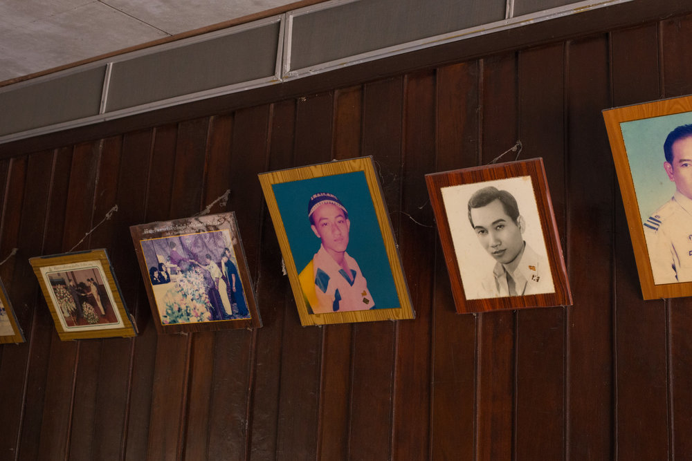 Portraits in Traditional Thai Home