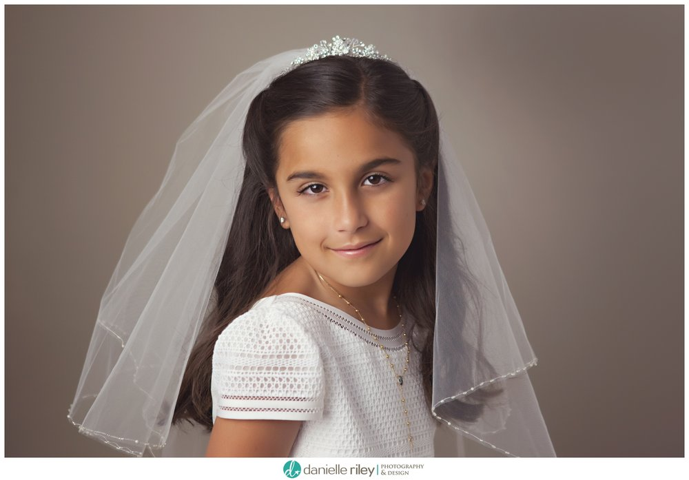 Timeless First Communion Portrait
