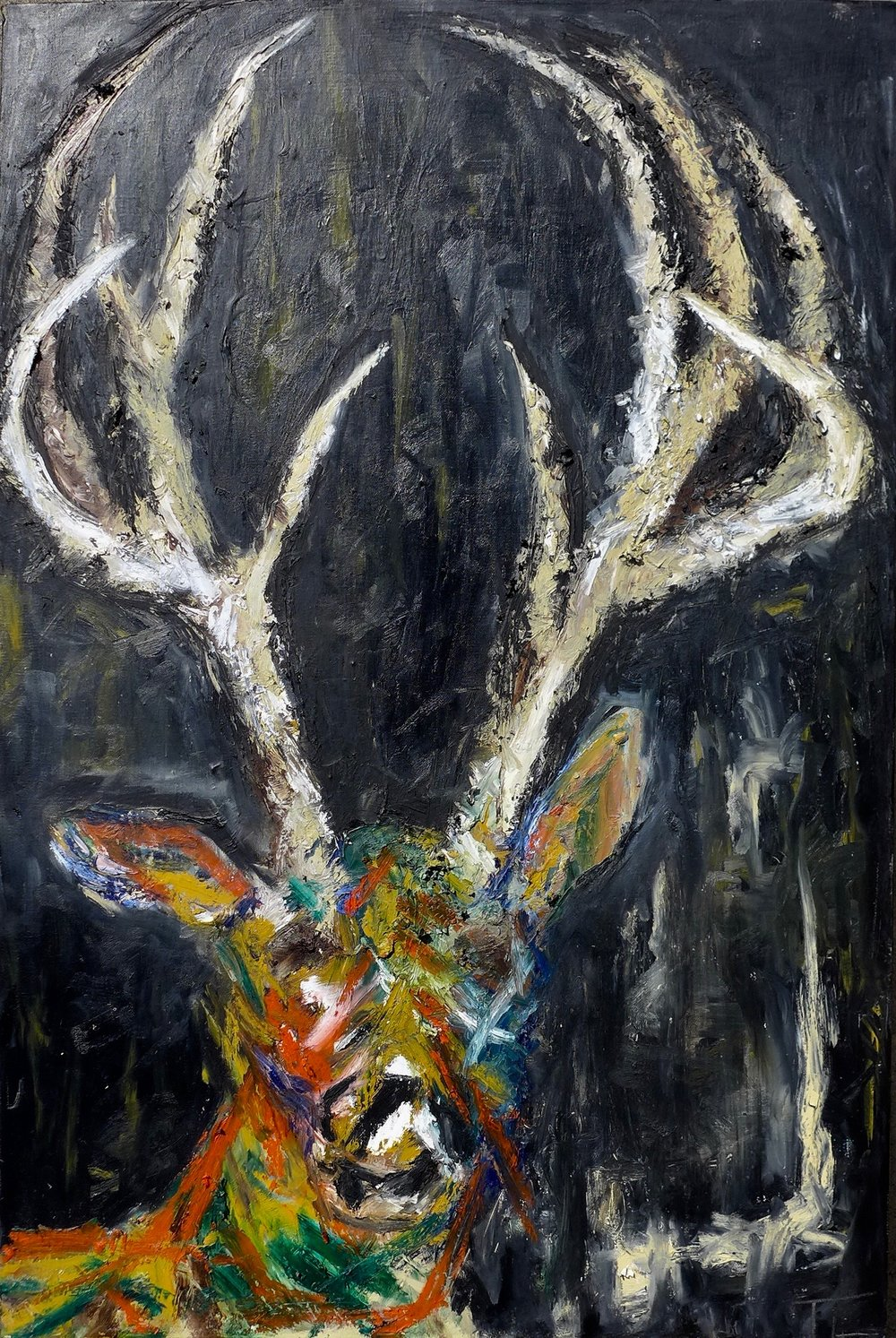 SWANSON THE DEER- SOLD