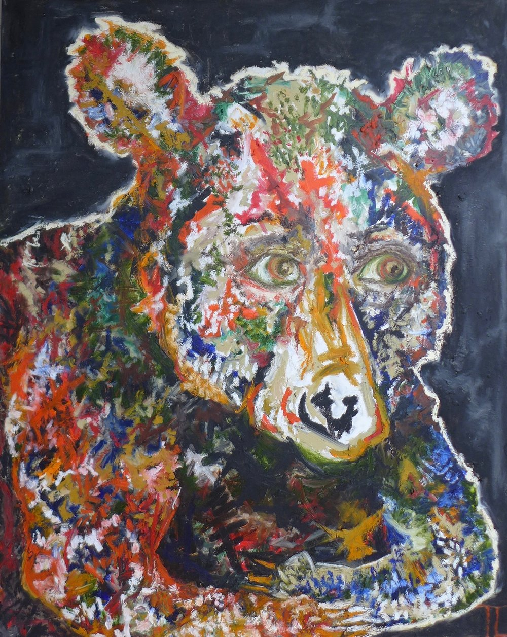 "HARLEY the BEAR 48"" x 60"""