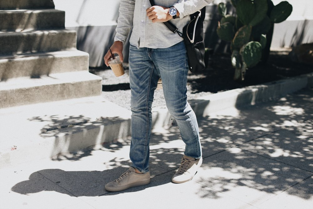Eco-Friendly Slim Fit Jeans by EXPRESS