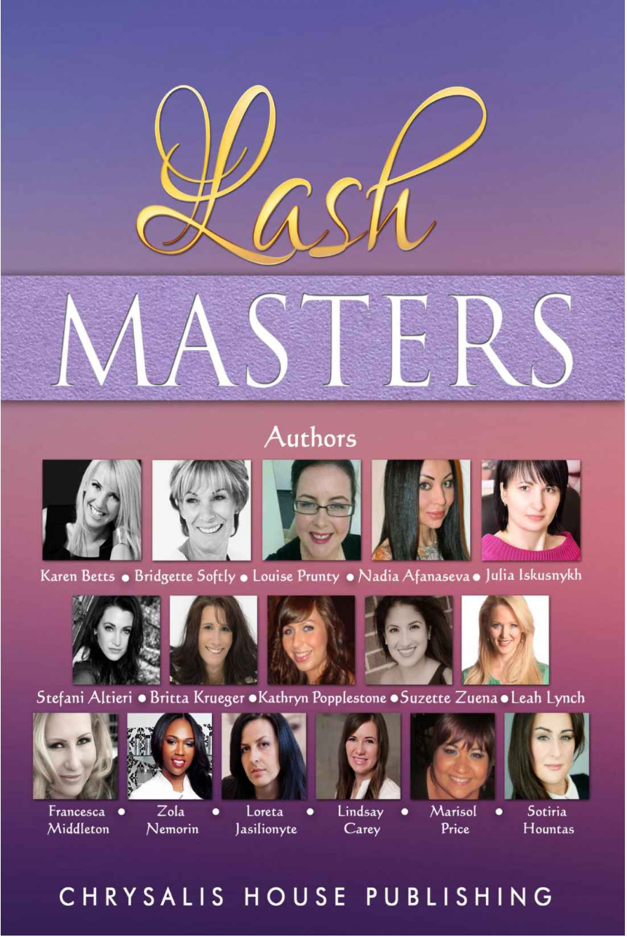 Marisol Price co-author in Lash Masters