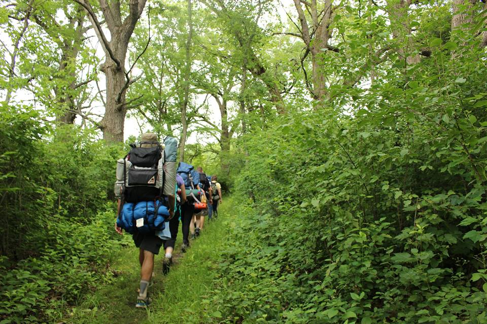 Beginners' Backpacking Course - July 2017