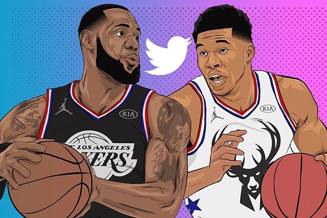 #NBA fans can choose which one of those four players will be featured in a free Twitter live stream experience during the 2019 NBA All-Star Game Sunday night by voting via @NBAonTNT during the first half.