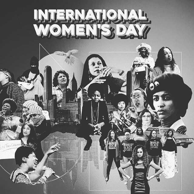Here's to strong women. May we know them. May we be them. May we raise them. #InternationalWomensDay