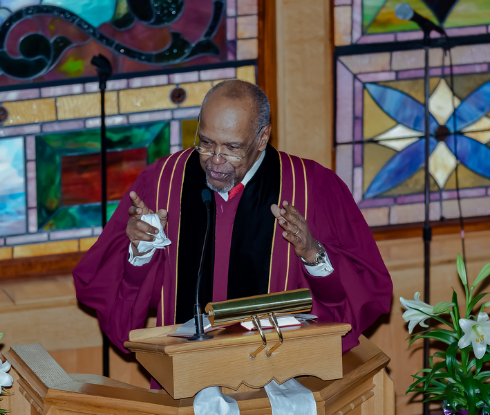 Our beloved Pastor Emeritus, Reverend Howard M. Haywood, made his transition to be with the Lord on February 16, 2019.  - Celebrate his life with us here.