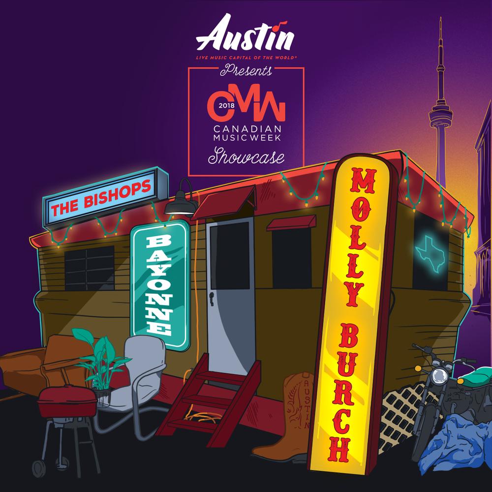 Canadian Music Week - Visit Austin 2018