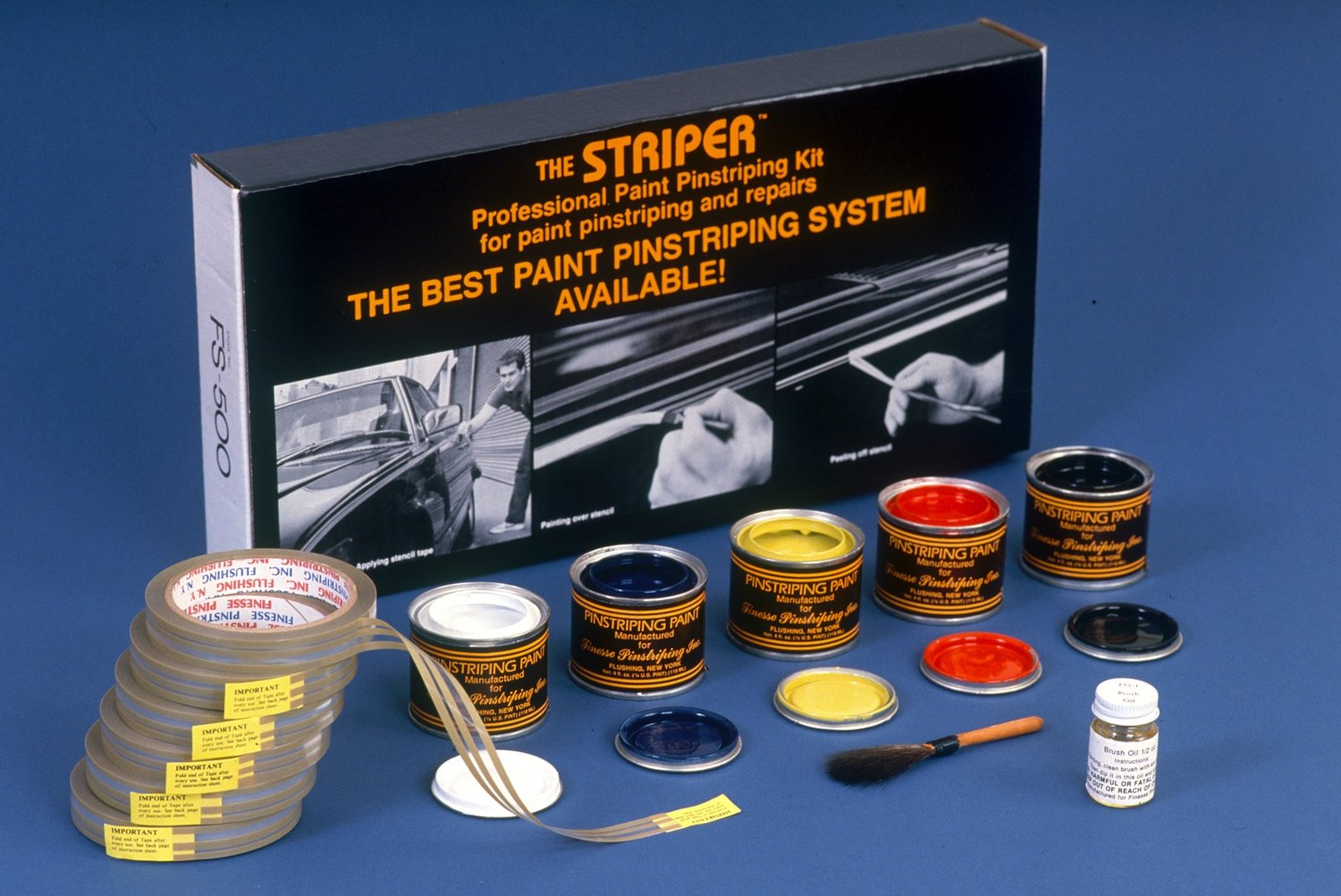 The FS-500 Professional Paint Pinstriping Kit