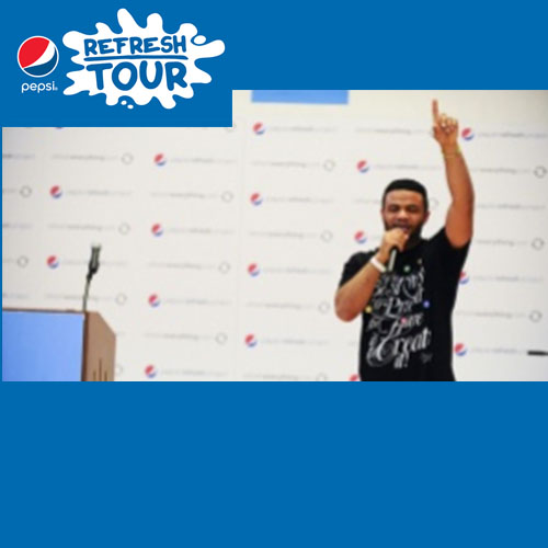 Pepsi Refresh Tour:Led and coordinated dozens of celebrities and guest speakers to inspire audiences across the country on behalf of Pepsi.