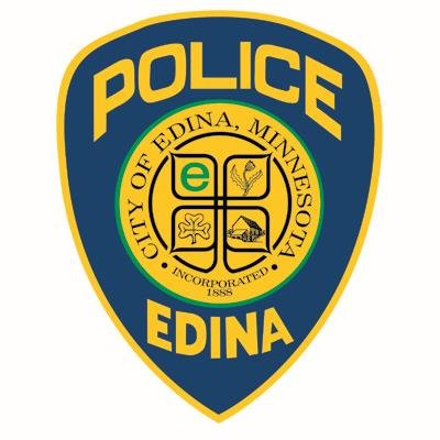 Shoulder patch for the Edina Police Department