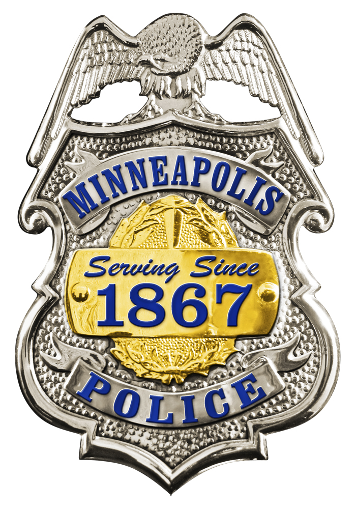 Badge of the Minneapolis Police Department