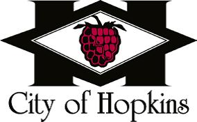 Logo of the City of Hopkins