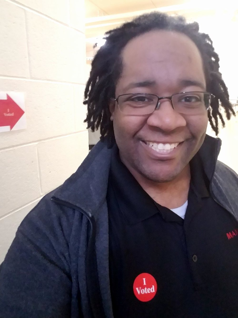 I voted before work today - I was #26 at my polling place.