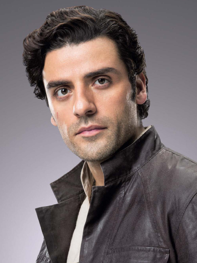 This is a copyrighted promotional image of Poe Dameron. It is believed that the copyright holder has granted permission for use under the fair use provision of United States copyright law. Source: Star Wars: The Last Jedi - The Official Collector's Edition, via Wookieepedia