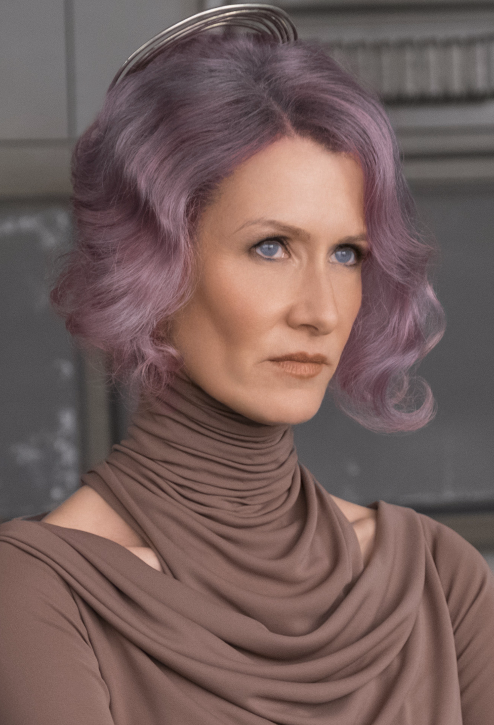 This is a copyrighted promotional image of Amilyn Holdo. It is believed that the copyright holder has granted permission for use under the fair use provision of United States copyright law. Source: Goodman, Lizzy (November 13, 2017). Laura Dern Finally Gets to Be Complicated. Elle. Retrieved on November 14, 2017, via Wookieepedia